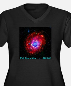 Wish Upon A Star NGC 300 Women's Plus Size V-Neck