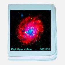 Wish Upon A Star NGC 300 baby blanket