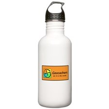 Geocachers do it in the woods! Water Bottle