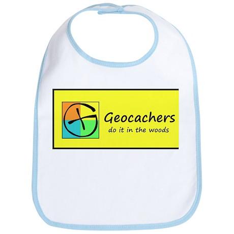 Geocachers do it in the woods! Bib