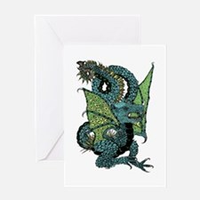 Wyvern Grotesque Greeting Card