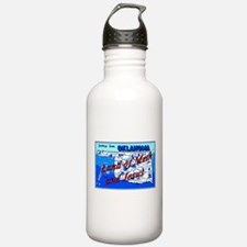 Land of meth and jesus Water Bottle