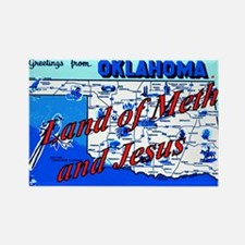 Land of meth and jesus Rectangle Magnet
