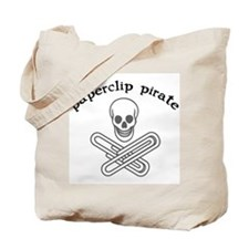 """Paperclip Pirate"" Tote Bag"