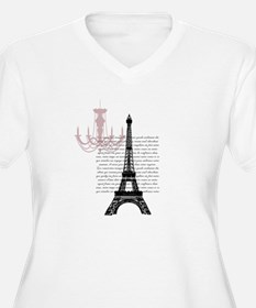 Paris Chandelier Plus Size T-Shirt