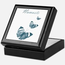 Namaste Butterflies Keepsake Box