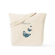 Namaste Butterflies Tote Bag