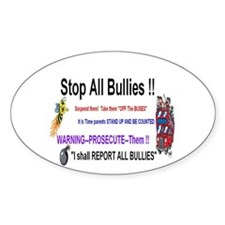 Stop All Bullies Decal