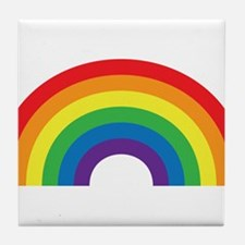 Gay Rainbow Tile Coaster