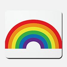 Gay Rainbow Mousepad