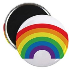 "Gay Rainbow 2.25"" Magnet (10 pack)"