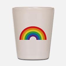 Gay Rainbow Shot Glass