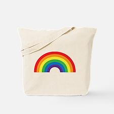 Gay Rainbow Tote Bag