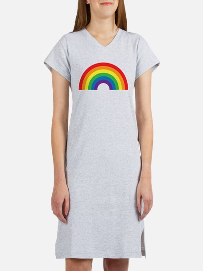 Gay Rainbow Women's Nightshirt