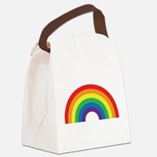 Gay Rainbow Canvas Lunch Bag