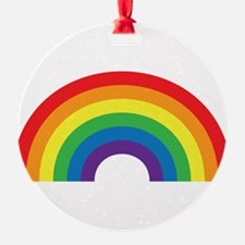 Gay Rainbow Ornament