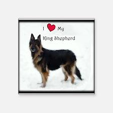 I heart my King Shepherd Sticker