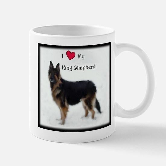 I heart my King Shepherd Mug