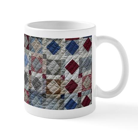 Squares and Diamonds Quilt Mug