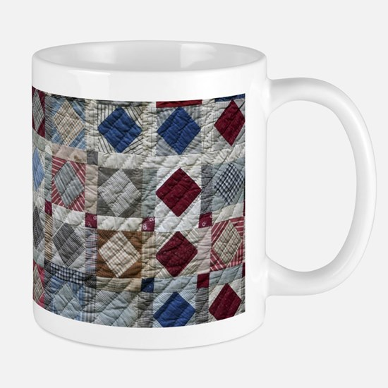 Squares and Diamonds Quilt Mug