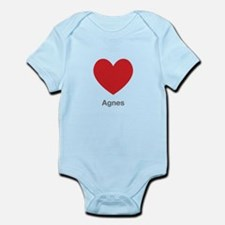 Agnes Big Heart Body Suit