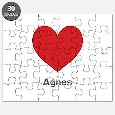Agnes Big Heart Puzzle