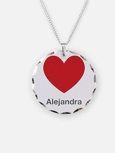 Alejandra Big Heart Necklace