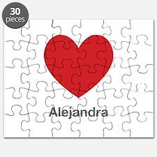 Alejandra Big Heart Puzzle