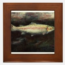 Trout Framed Tile