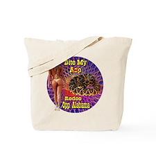 Bite My Asp Rattlesnake Rodeo Opp Alabama Tote Bag