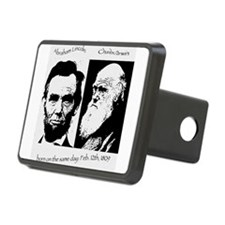 Abraham Lincoln & Charles Darwin Hitch Cover