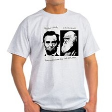 Abraham Lincoln & Charles Darwin T-Shirt
