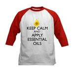 Keep Calm and Apply Essential Kids Baseball Jersey