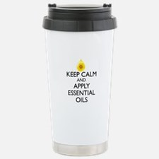 Keep Calm and Apply Ess Travel Mug