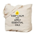 Keep Calm and Apply Essential Oils Tote Bag