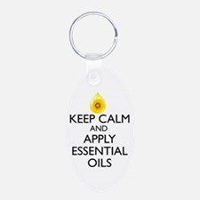 Keep Calm and Apply Essenti Keychains