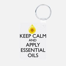 Keep Calm and Apply Essent Keychains