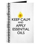 Keep Calm and Apply Essential Oils Journal