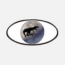 T-Rex vintage moon Patches