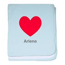 Arlene Big Heart baby blanket