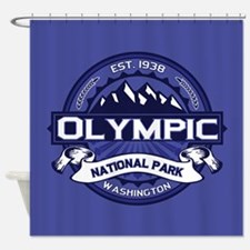 Olympic Midnight Shower Curtain