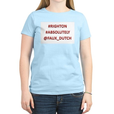 #RIGHTON Women's T Shirt