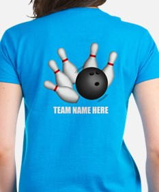 Personalized Team Bowling Tee