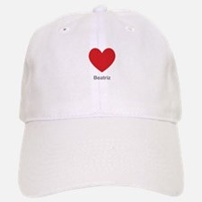 Beatriz Big Heart Baseball Baseball Baseball Cap