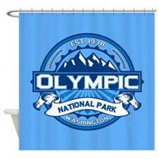 Olympic Ice Shower Curtain