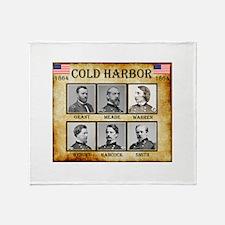 Cold Harbor - Union Throw Blanket