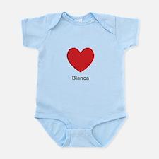 Bianca Big Heart Body Suit