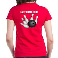 Individual Personalized Bowling Women's T-Shirt