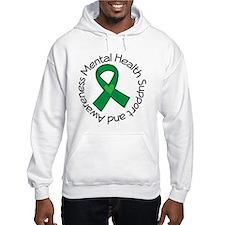 Mental Health Heart Ribbon Hoodie