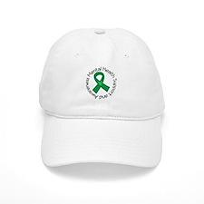 Mental Health Heart Ribbon Baseball Cap